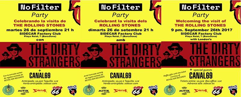40x5 Tributo Dirty Strangers Barcelona