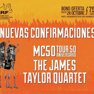 MC5 y The James Taylor Quartet al Azkena Rock Festival