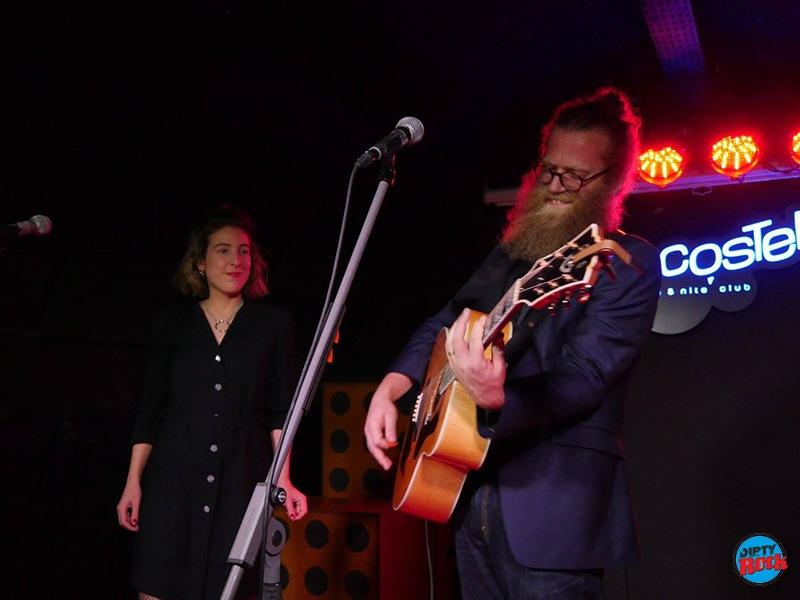 Ben Caplan derrocha simpatía en el Costello Club.1