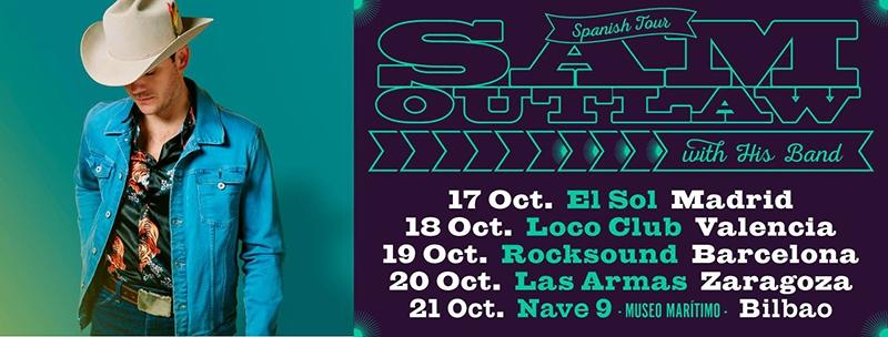 Sam Outlaw gira española 2017
