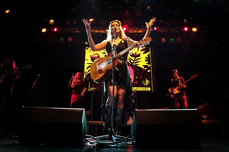 Glass Mountain Records cumple 10 años. Tori Sparks en concierto en Barcelona 2017