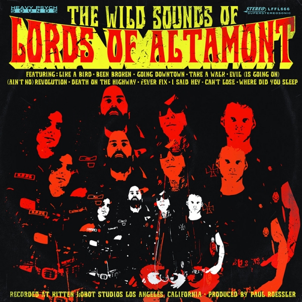 The Lords of Altamont anuncian nuevo disco The Wild Sounds of Lords of Altamont y gira