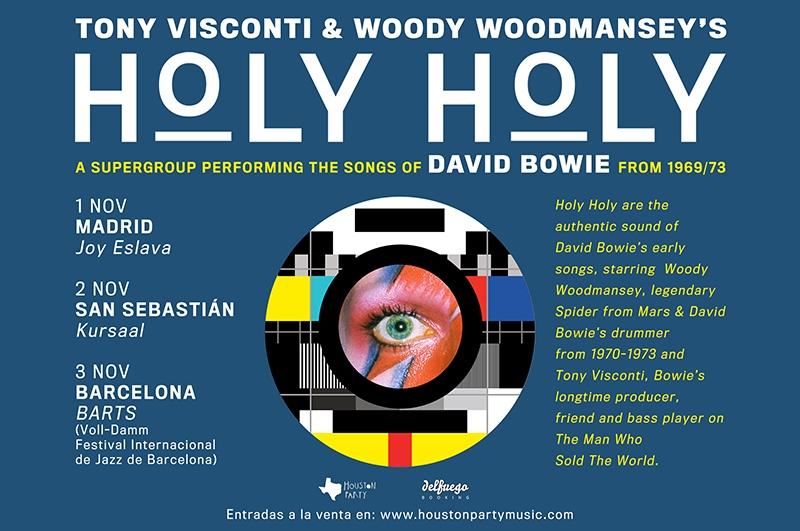 Gira española de Holy Holy con Tony Visconti 2017