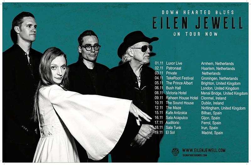 Eilen Jewell gira española 2017