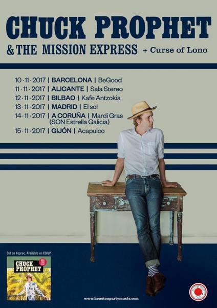 Chuck Prophet entrevista 2017 gira tour
