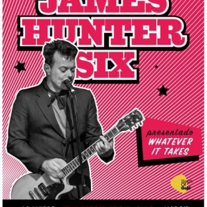 The James Hunter Six presentará su nuevo disco Whatever It Takes en España marzo 2018