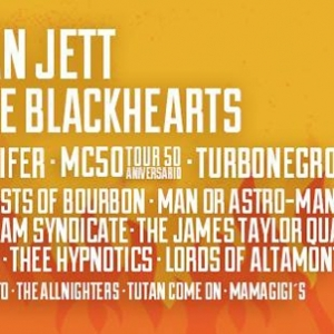 Gluecifer al Azkena Rock Festival junto con Thee Hypnotics, Turbonegro, Man Or Astro-Man, Lords Of Altamont y Mam