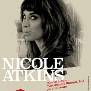 Nicole Atkins en noviembre en Madrid y Barcelona para presentar Goodnight Rhonda Lee
