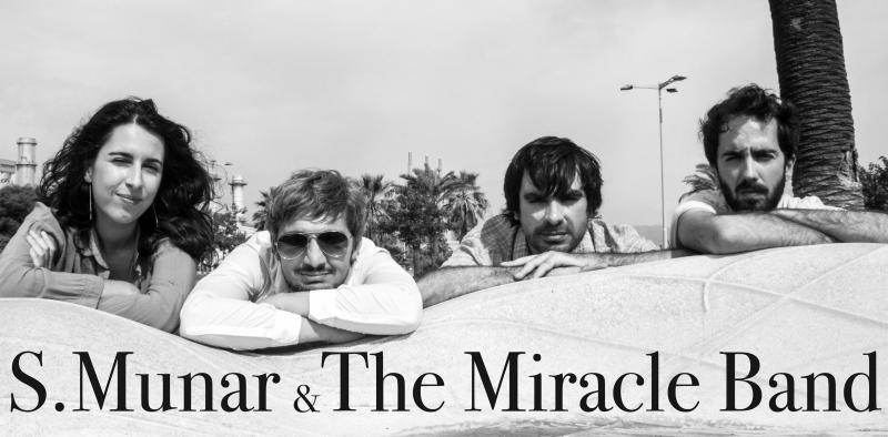 Entrevista Steven Munar and The Miracle Band por el lanzamiento Violet Koski