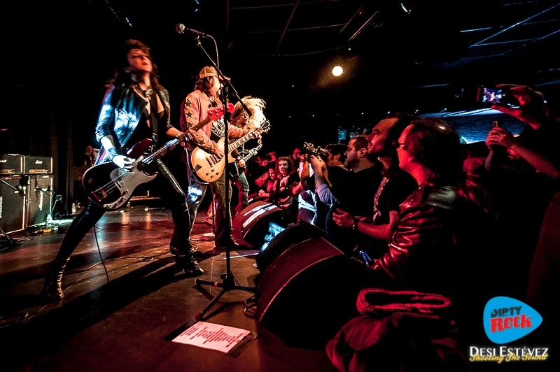 Nashville Pussy Barcelona Noviembre 2017