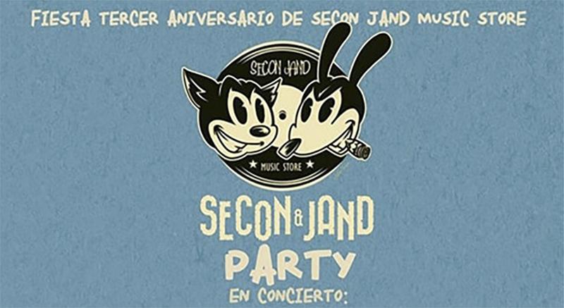 3er aniversario de Secon Jand Music Store