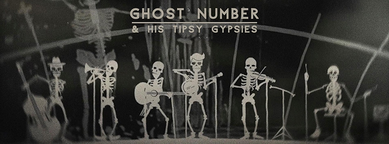 Ghost Number & His Tipsy Gypsies From Dawn to Dust disco 2017 entrevista