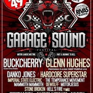 Garage Sound Fest anuncia a Glenn Hughes y Buckcherry para su segunda edición