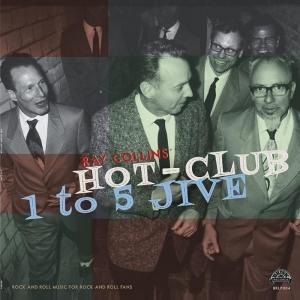 Gira española de Ray Collins' Hot-Club para presentar 1 to 5 Jive 2018