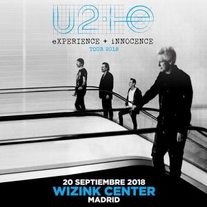 U2 vuelve a Madrid 13 años después