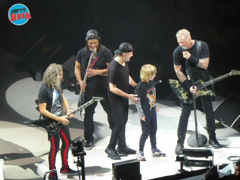 Metallica Madrid 3 febrero 2018.9