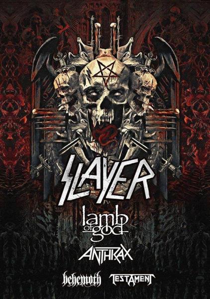 Slayer también anuncian su adiós a los escenarios con una última gira mundial