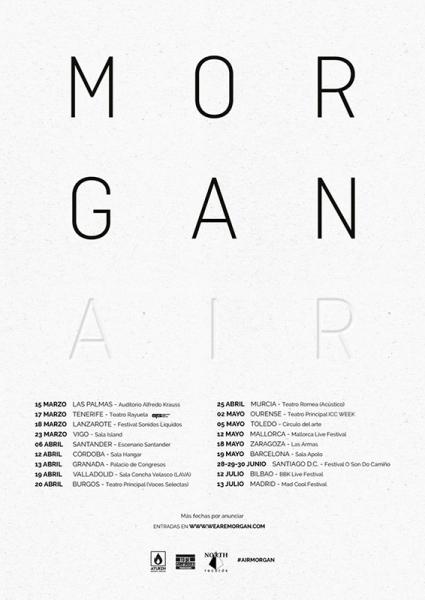 Morgan gira 2018 fechas