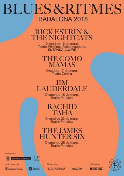 Blues&Ritmes Festival Badalona 2018
