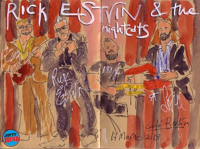 Rick Estrin & The Nightcats Madrid 2018 Cafe´Berlín
