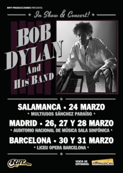 Bob Dylan crónica 2018 Salamanca España