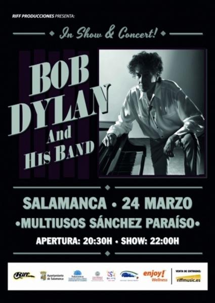 Bob Dylan crónica 2018 Salamanca España.