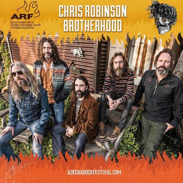 Chris Robinson Brotherhood al Azkena Rock Festival 2018