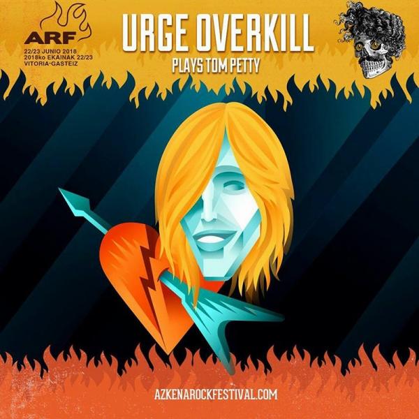 Urge Overklill y su tributo a Tom Petty en el Azkena Rock Festival 2018