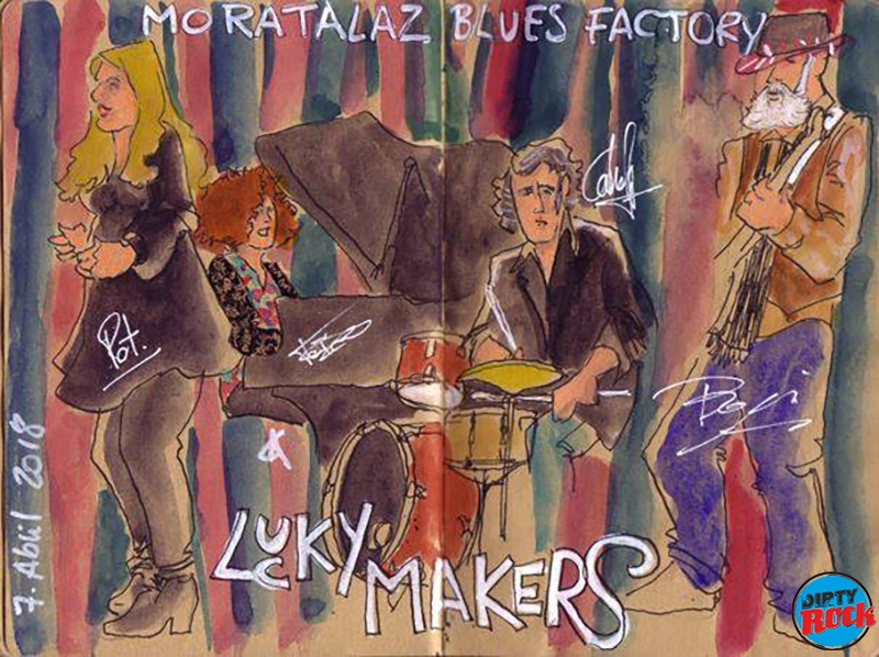 The Lucky Makers Moratalaz Blues Factory