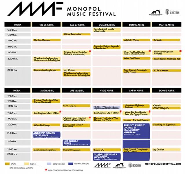 Quinta edición del Monopol Music Festival programa 2018