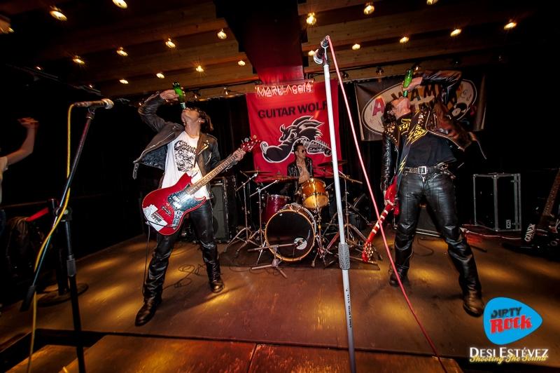 Guitar Wolf Barcelona concierto 2018.3