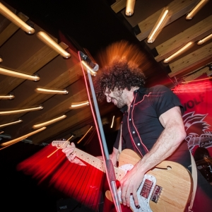 Hiroshima Guitar Wolf Barcelona concierto 2018.