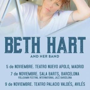 Gira de Beth Hart para presentar su nuevo disco Black Coffee
