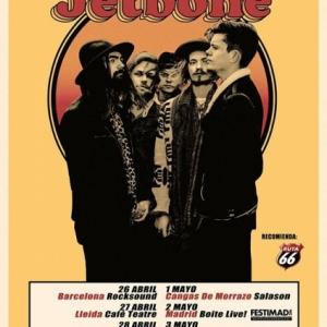 Nuevo disco Come Out and Play y gira de Jetbone 2018