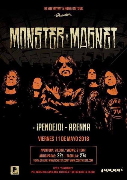 Monster Magnet presentarán su nuevo disco Mindfucker en Bilbao y Madrid