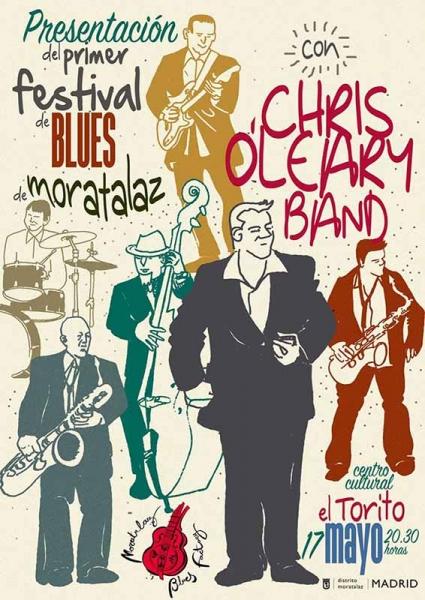 Presentación del Moratalaz Blues Festival 2018