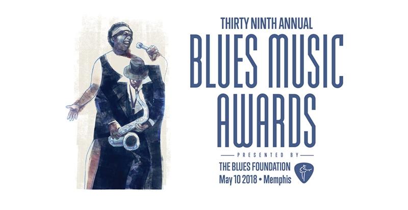 Listado de ganadores de los premios Blues Music Awards año 2018