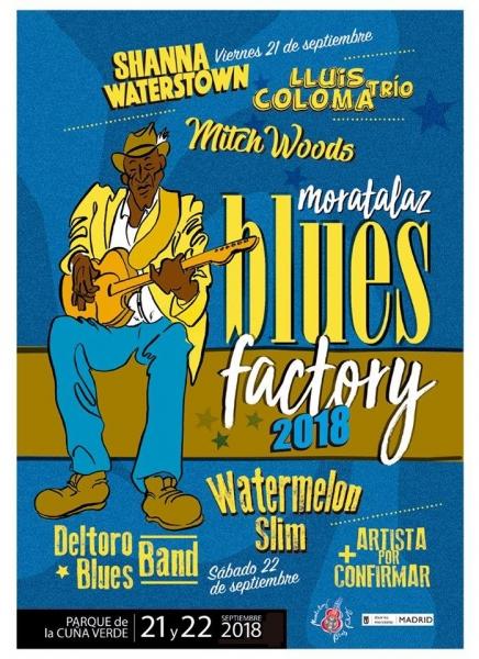 Chris O'Leary en Moratalaz Blues Factory 2018