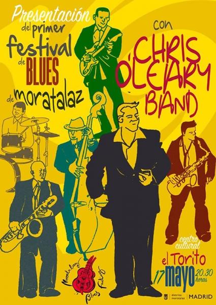 Chris O'Leary en Moratalaz Blues Factory