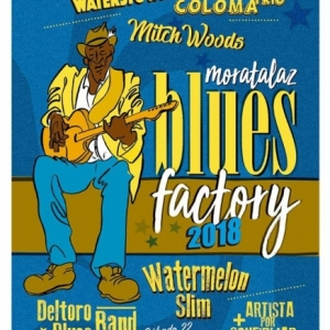 Chris O'Leary en Moratalaz Blues Factory 2018