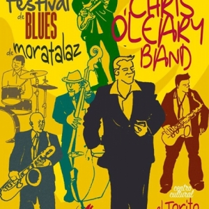 Chris O'Leary en Moratalaz Blues Factory
