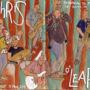 The Chris O'Leary Band Moratalaz 2018 Madrid