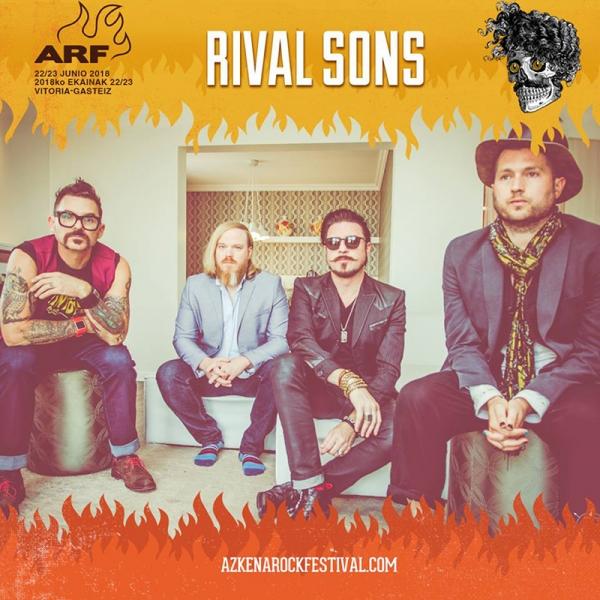 Rival Sons se suman al ARF y The Sheepdogs ofrecerán un segundo concierto. Dex Rowember Duo cancela. Se incorpora Bloodshot Bill 2008