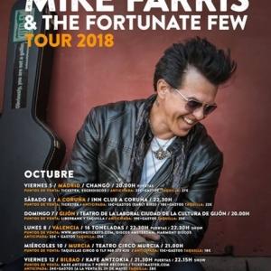 Mike Farris presentará su nuevo disco Silver and Stone en España en octubre 2018