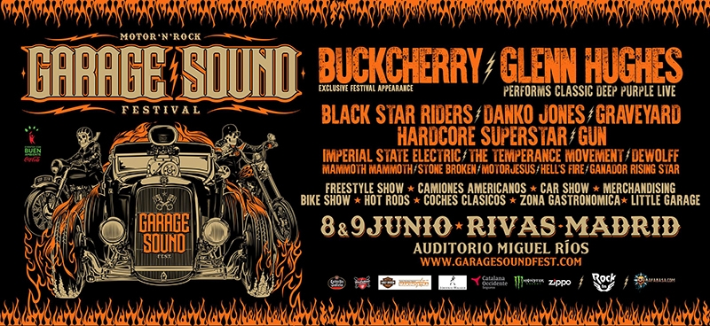 Horarios Garage Sound Festival 2018