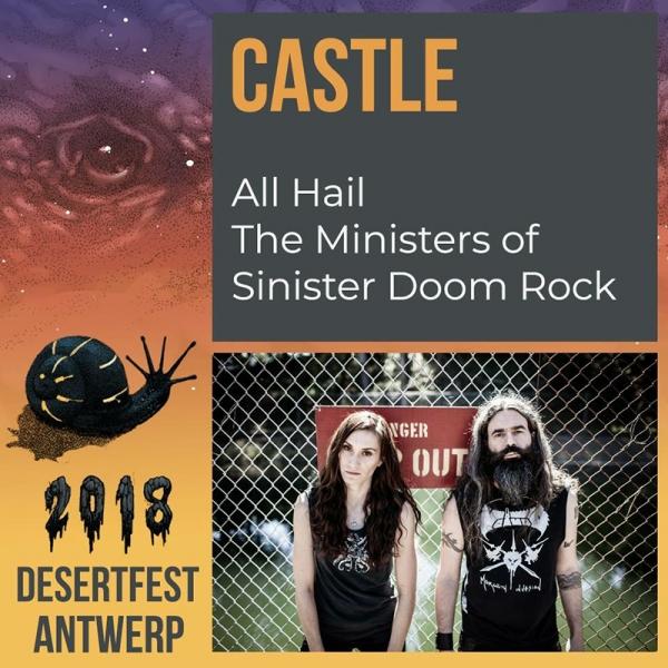 Desertfest Bélgica anuncia nuevas confirmaciones Castle
