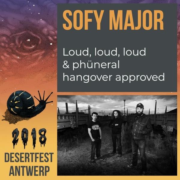 Desertfest Bélgica anuncia nuevas confirmaciones Sofy Major