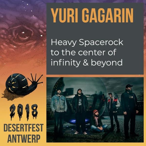 Desertfest Bélgica anuncia nuevas confirmaciones Yuri Gagarin