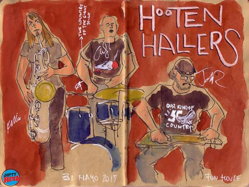 The Hooten Hallers Madrid crónica.Cayetana Alvarez