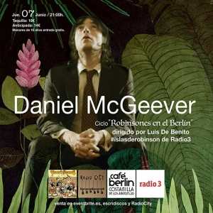 Daniel McGeever Madrid Cross the Water nuevo disco.7
